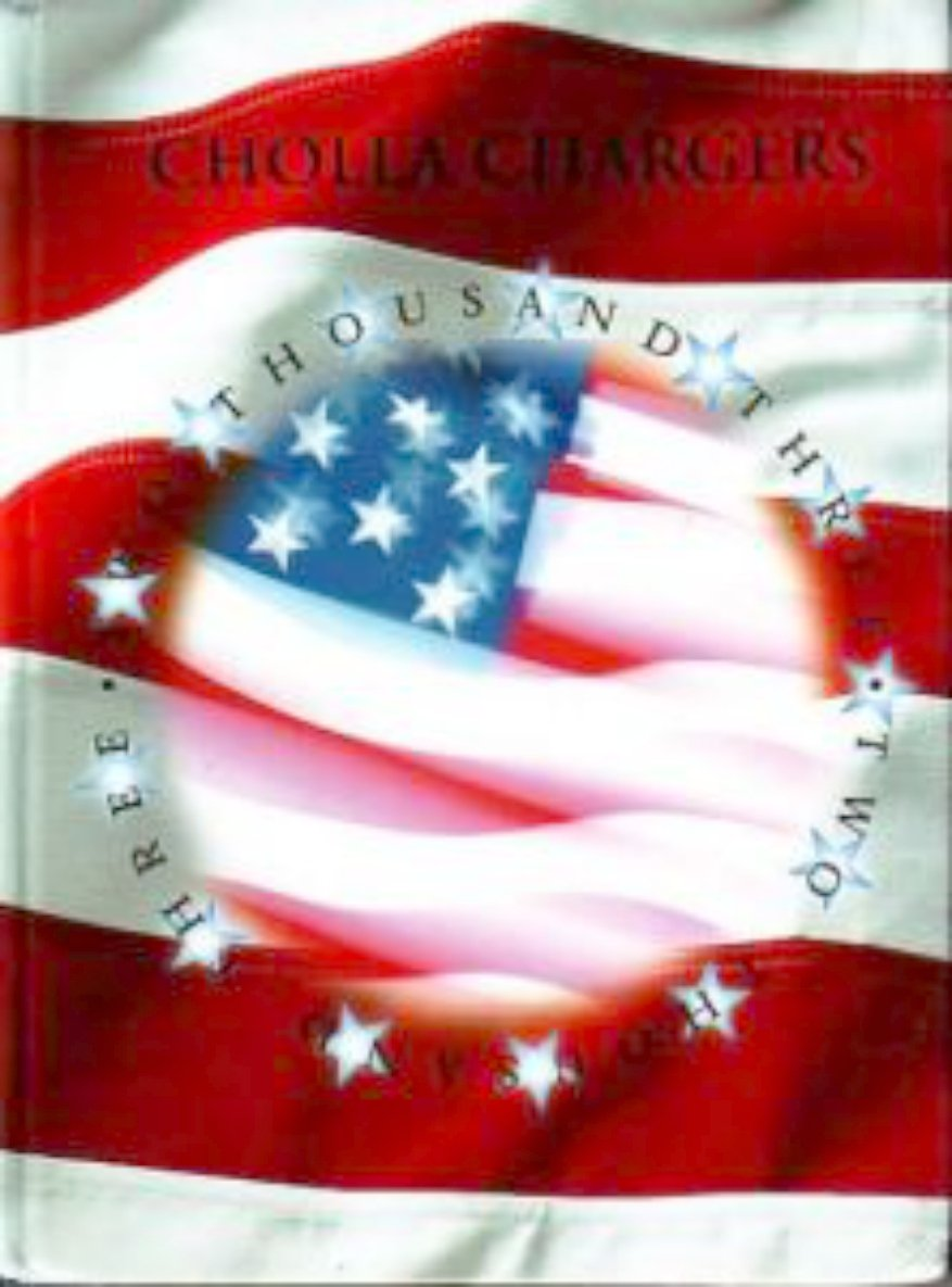 2003 Cholla Middle School Yearbook Arizona