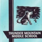 2000 Thunder Mountain Middle School Coyotes Yearbook Arizona