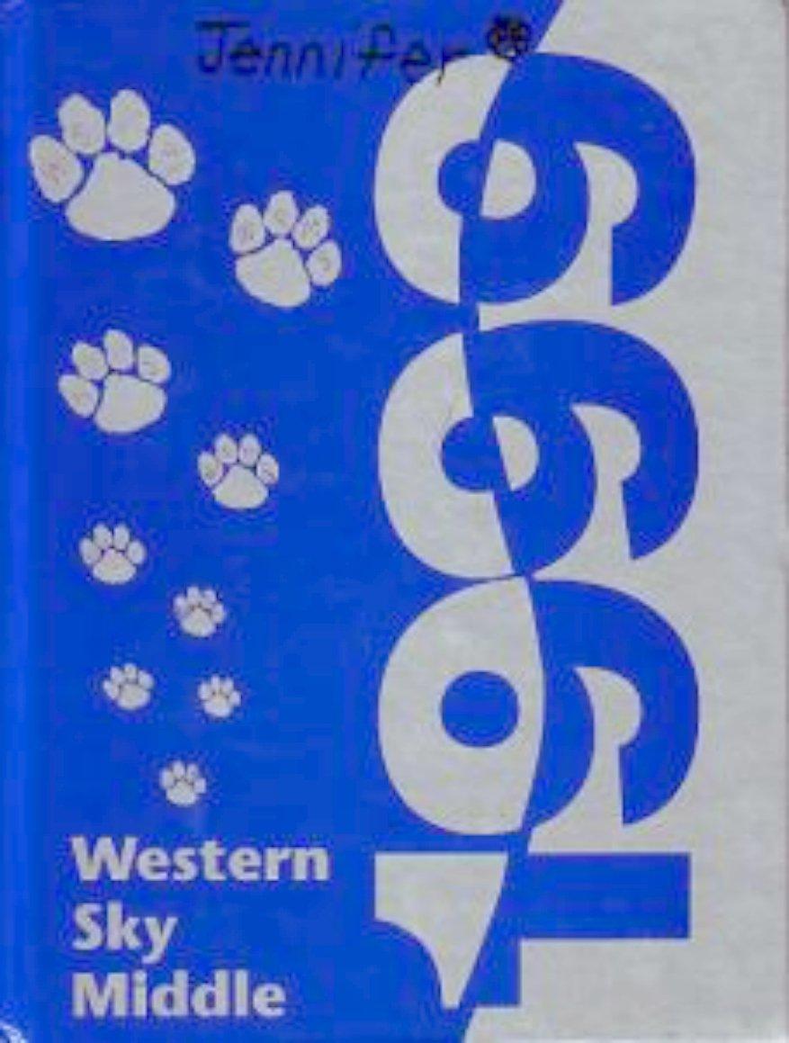 1999  Western Sky Middle  School  Yearnook Goodyear  AZ