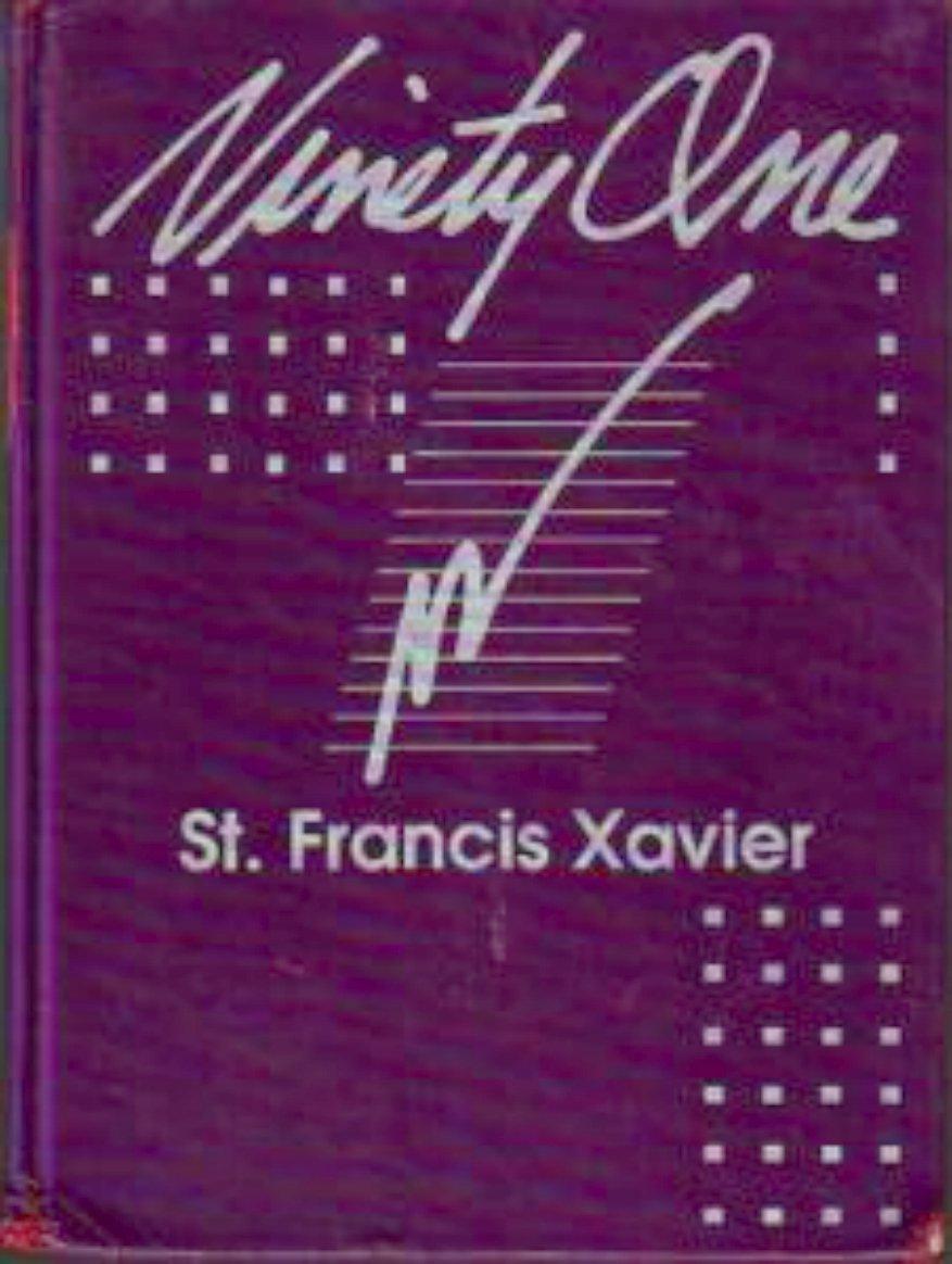 1991 Saint Francis Xavier School K-8 Yearbook  Ariz