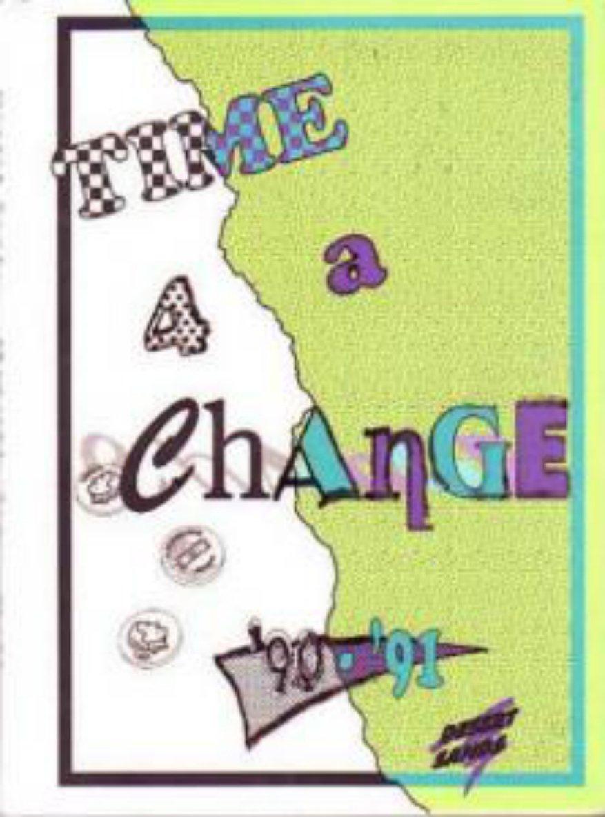 1991 Desert Sands Junior High School Yearbook ~ Phoenix