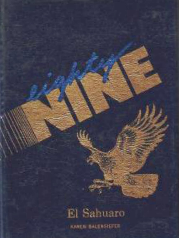 1989 Alice Vail Middle School Sahuaro Yearbook ~ Tucson