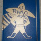 1962 Rancho Junior High School Yearbook Hayward CA Other Years Available