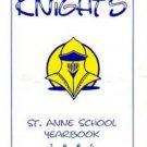 1994 Saint  Anne School K 7 Yearbook Laguna Niguel