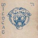 1971 Warner Intermediate School Wildcat Yearbook Westminister California