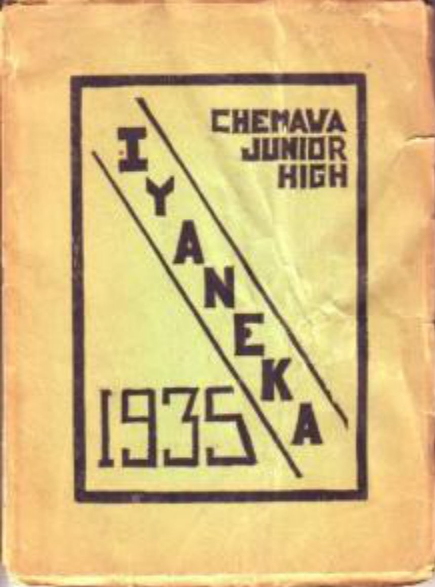 1935 Chemawa Junior High Iyaneka Yearbook  Riverside CA