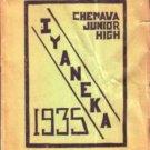 1935 Chemawa Junior High Iyaneka Yearbook  Riverside CA