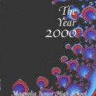 2000 Magnolia Junior High School Yearbook Chino Calif