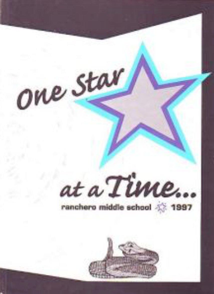1997 Ranchero Middle School Yearbook Hersperia Californ
