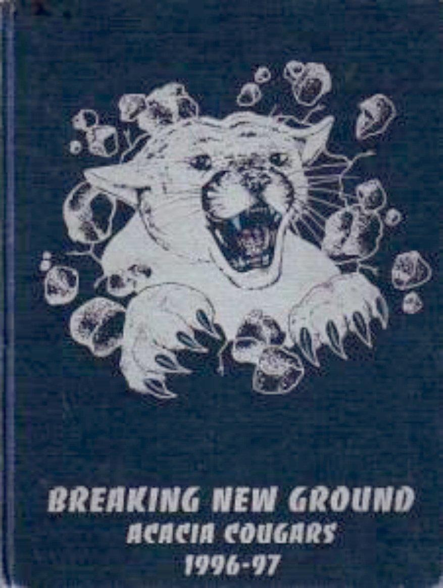1997 Acacia Middle School Yearbook Hemet California