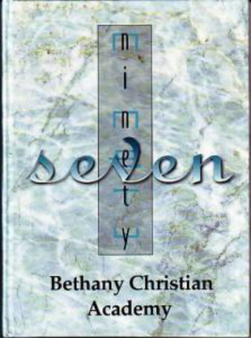 1997 Bethany Christian Academy Yearbook Westminster Cal