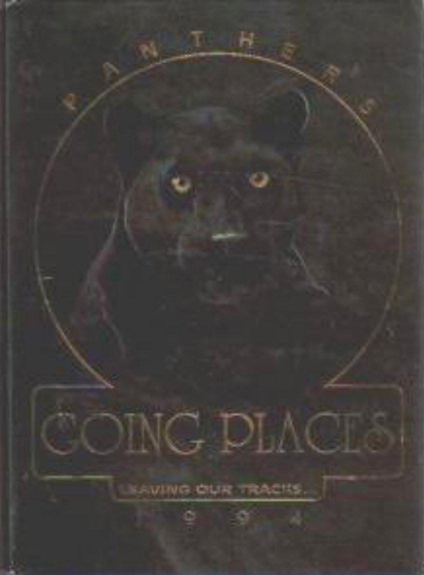 1994  PARKS JUNIOR HIGH SCHOOL YEARBOOK ~ FULLERTON CALAFORNIA