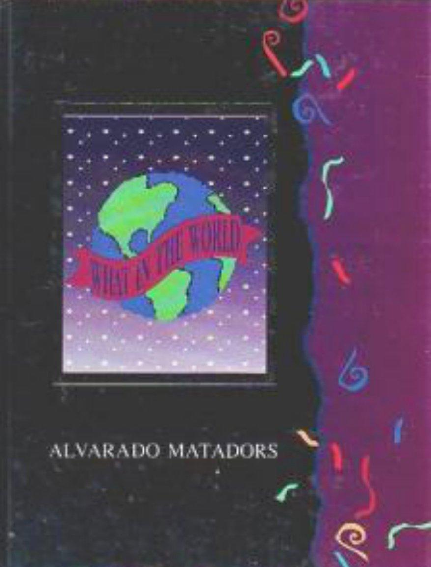 1993 Alvarado Intermediate Junior High School Yearbook