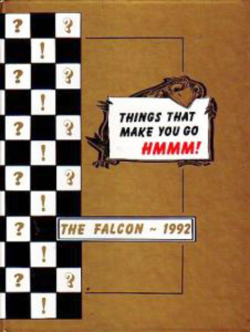 1992 Tuffree Junior High School  Yearbook Placentia CA