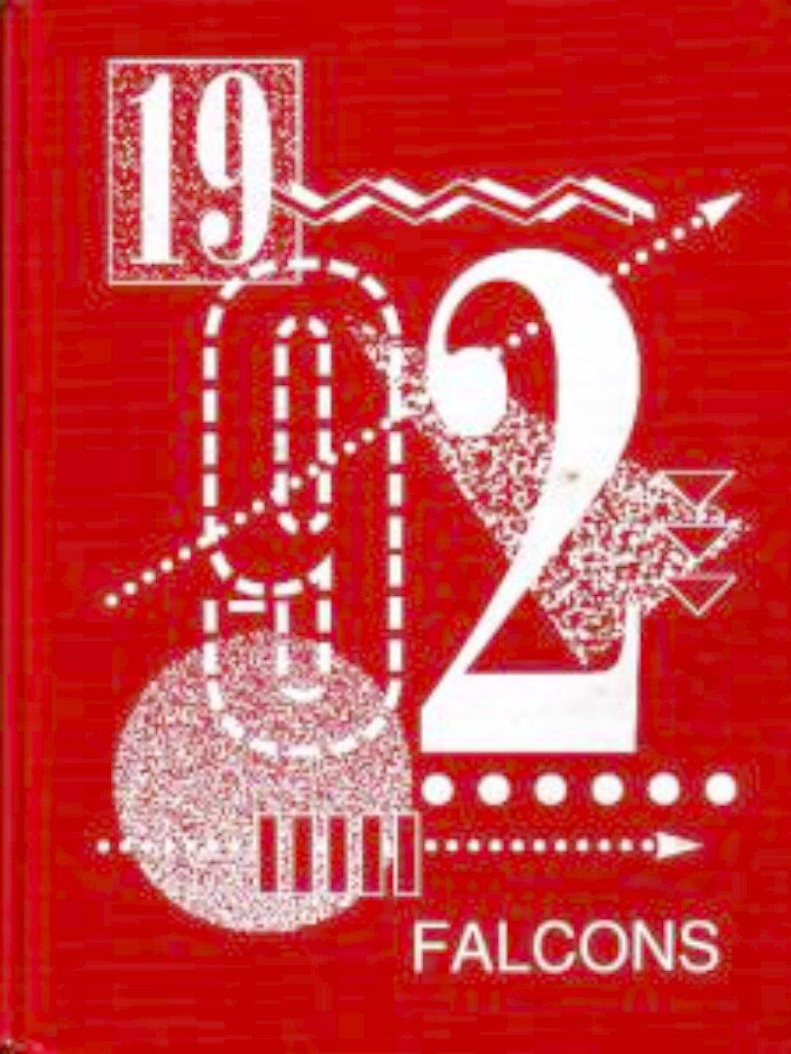 1992 Fesler Junior High School Yearbook Santa Maria Cal