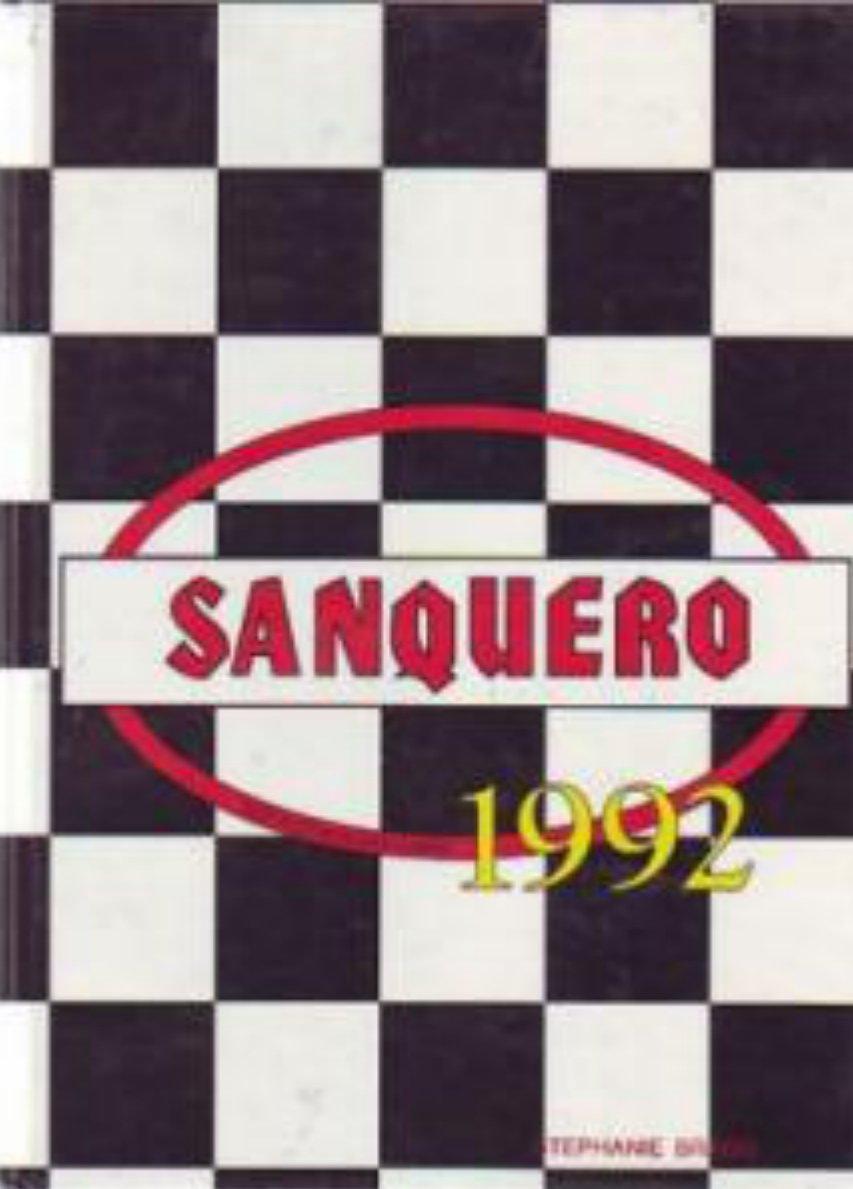 1992 Tevis Junior High School Yearbook ~ Bakersfield CA