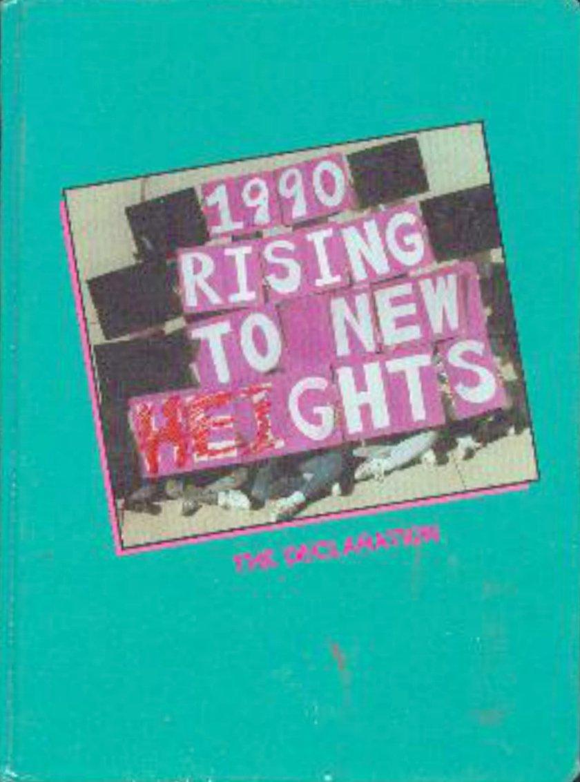 1990 Herman Intermediate School Yearbook ~ San Jose Cal