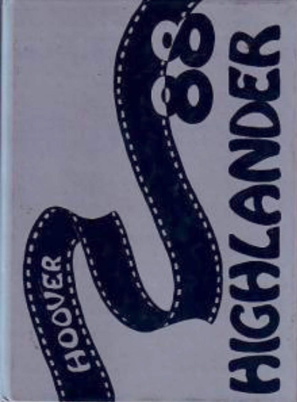 1988 Hoover Junior School Yearbook Lakewood California
