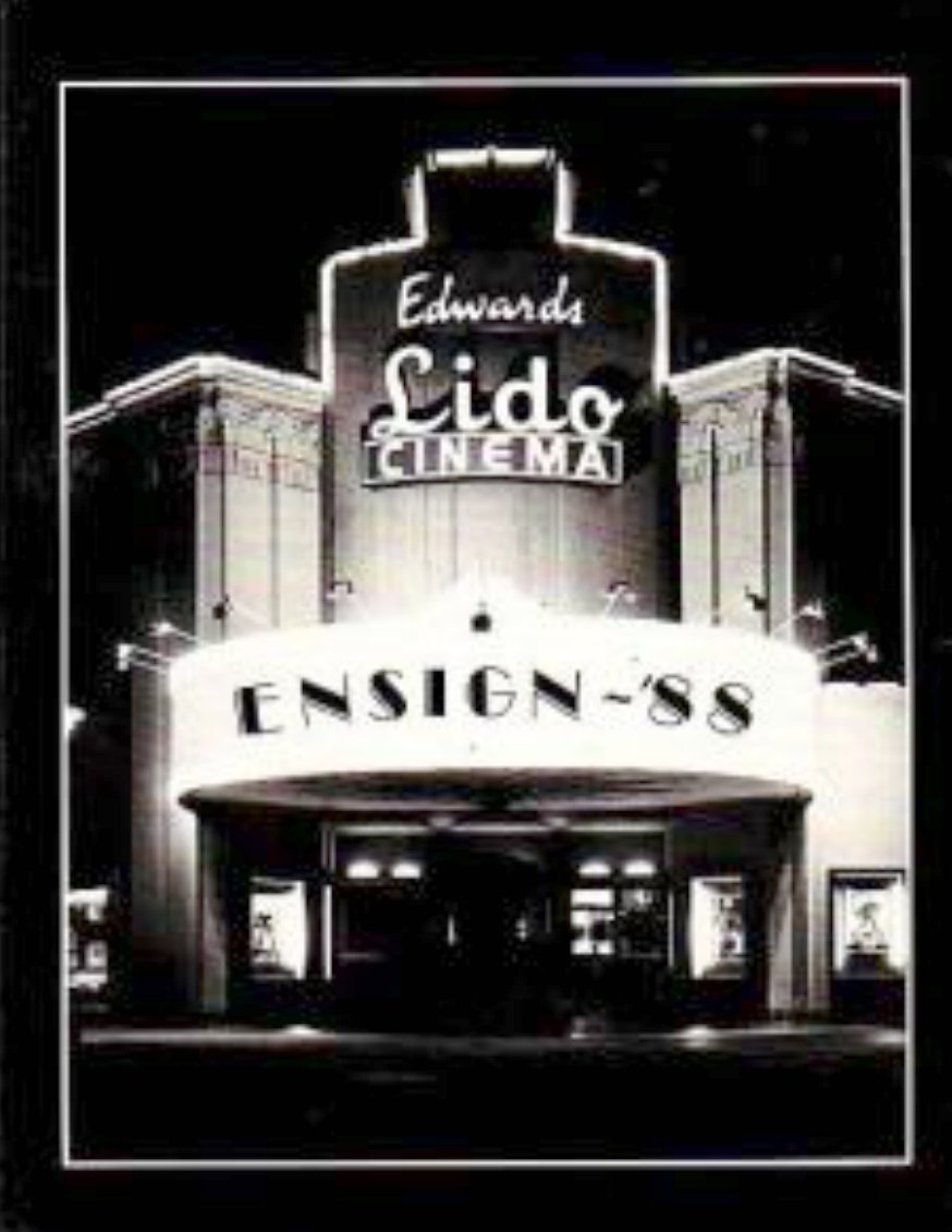 1988 Horace Ensign Intermediate School ~ Newport Beach