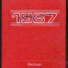 1987 Herman Intermediate School Yearbook~ San Jose Cal