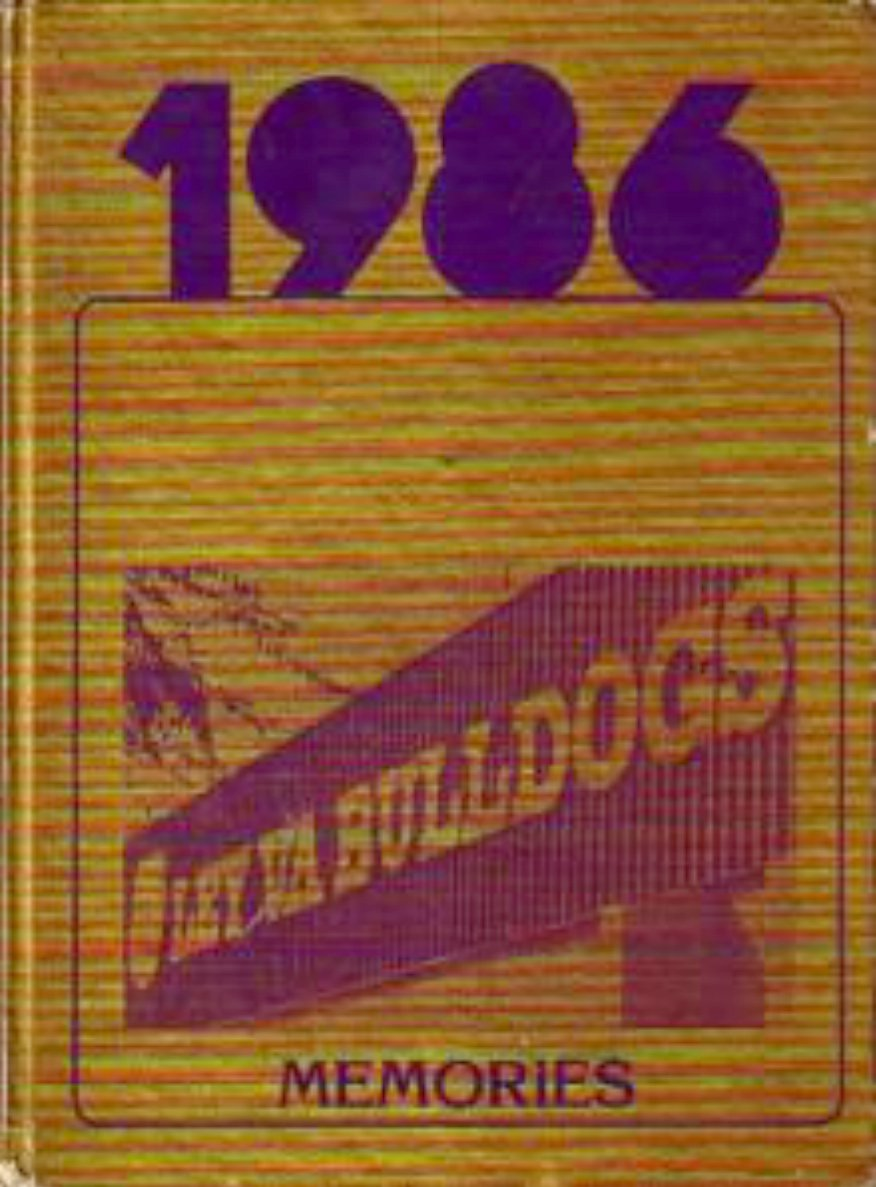 1986 Ley Va Middle School Yearbook  San Jose California