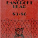 1986 Bancroft Jr Junior High School Bear Yearbook Long Beach California