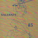 1985 Victor Valley Jr Junior High School Valiants Yearbook Victorville California