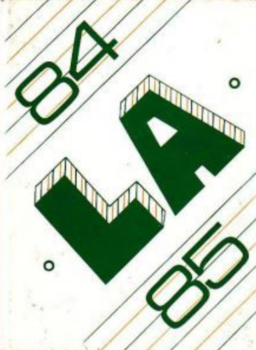 1985 Los Alisos Intermediate School Yearbook Mission CA