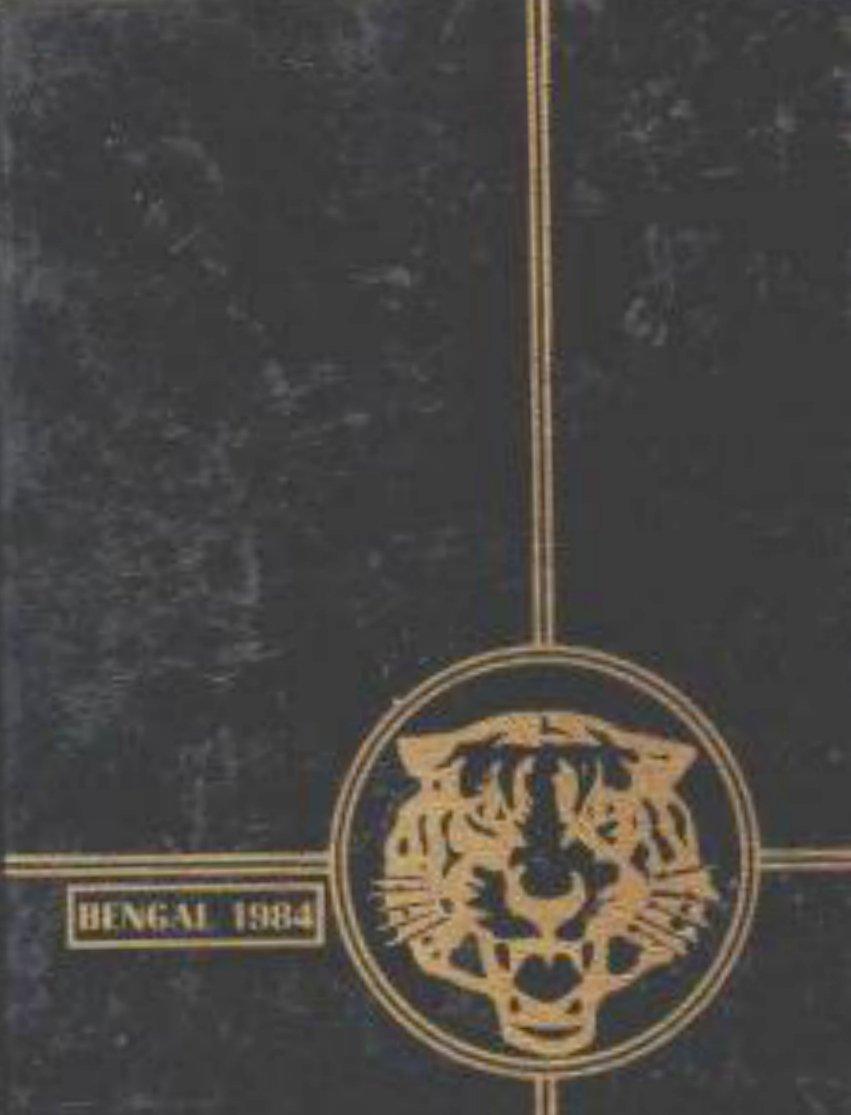 1984 Terrace Hills Junior High School  Yearbook Calif