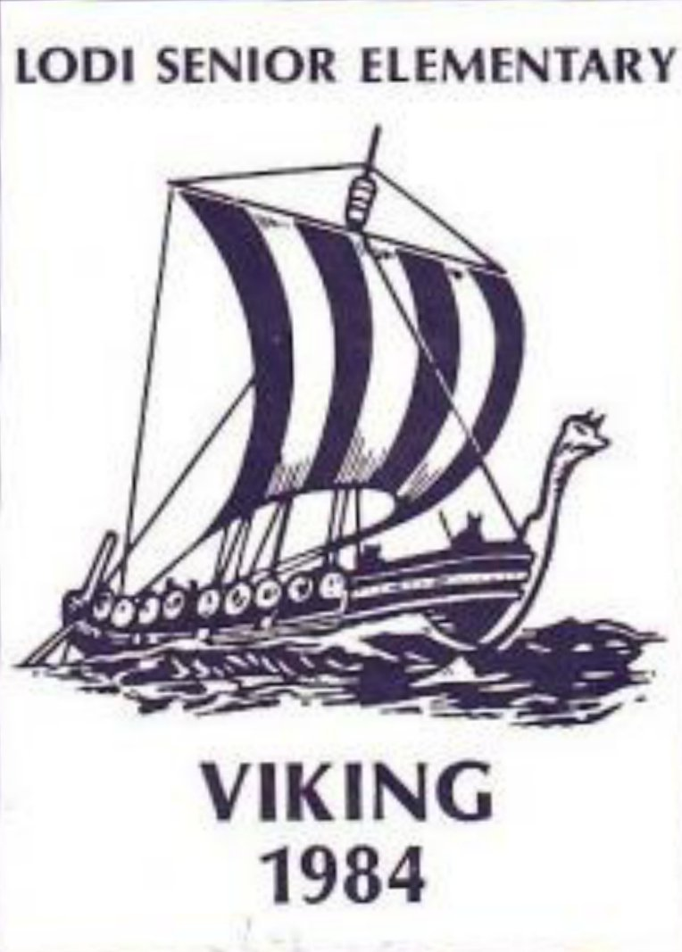 1984 Lodi Senior Elementary School Viking Yearbook