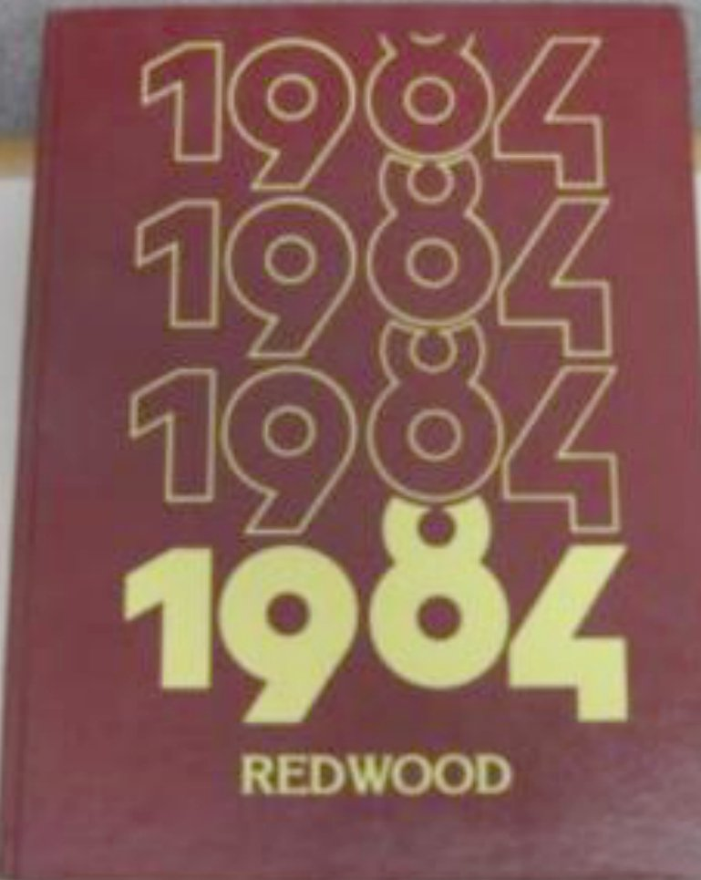 1984 Redwood Intermediate School Yearbook Saratoga Cal