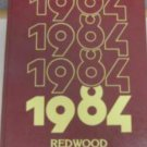 1984 Redwood Intermediate School Yearbook Saratoga Cal