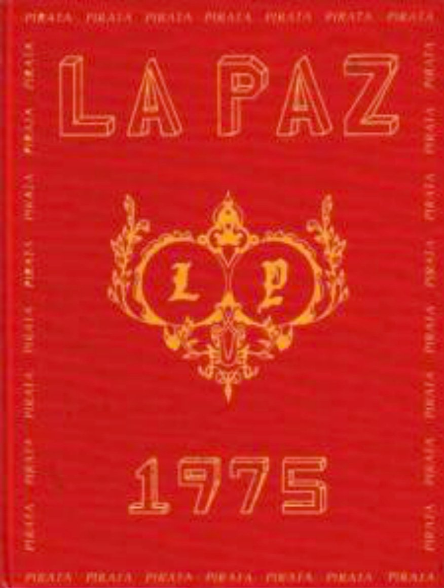 1975 La Paz Intermediate School Yearbook Mission Viejo
