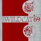 1969 Frank L Walton Junior High Middle School Wildcat Yearbook Compton California