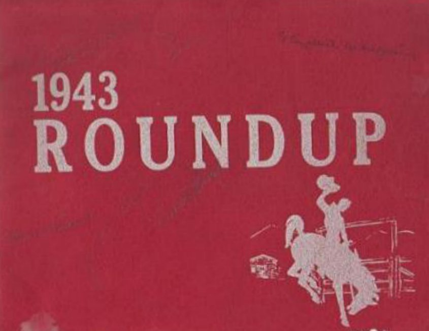 1943 Will Rogers Middle School Yearbook ~ Long Beach