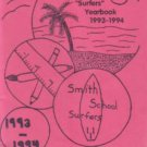 1994 Agnes Smith Elementary School Surfers Yearbook Huntington Beach California