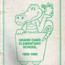 1993 Grand Oaks Elementary School Yearbook Citrus Heights California