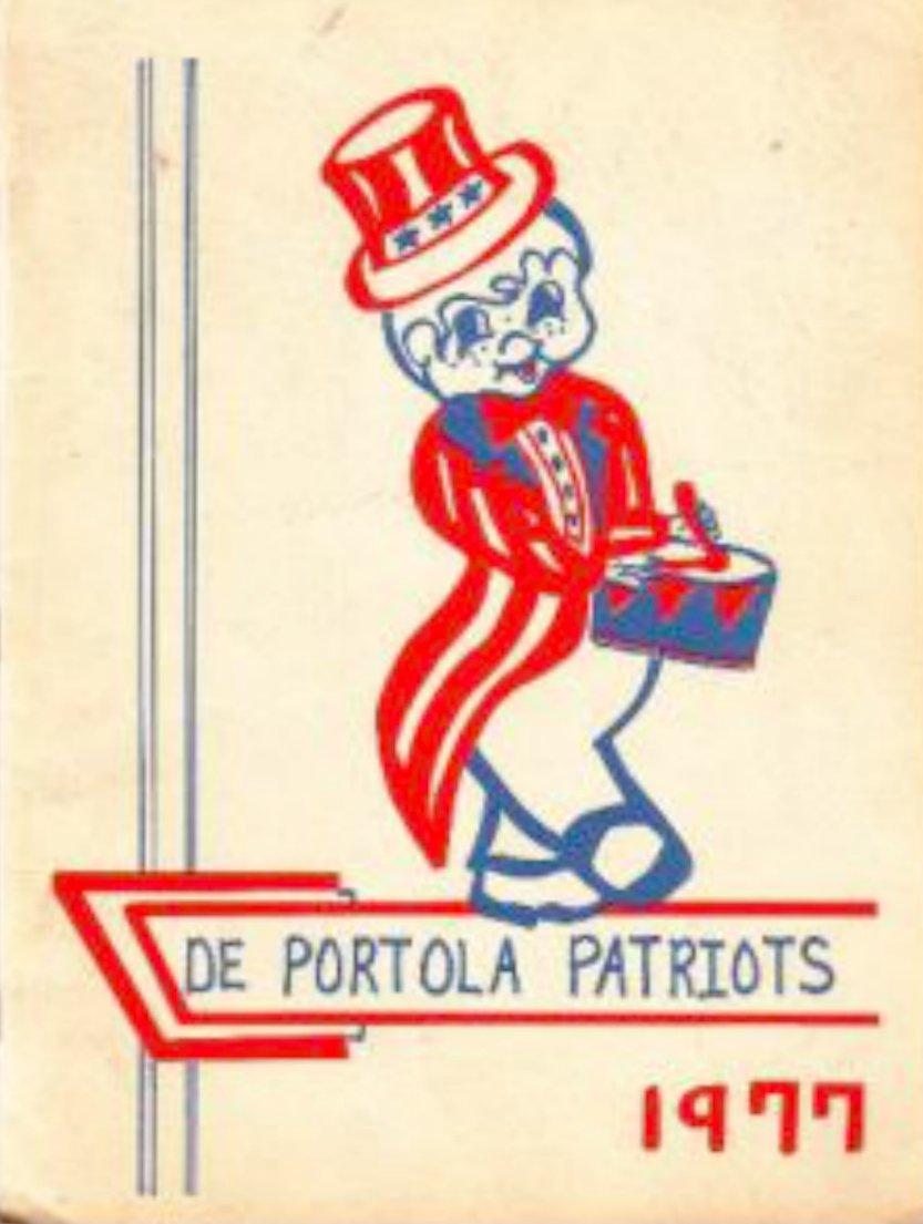 1977 De Portola Elementary School Yearbook ~ Mission CA