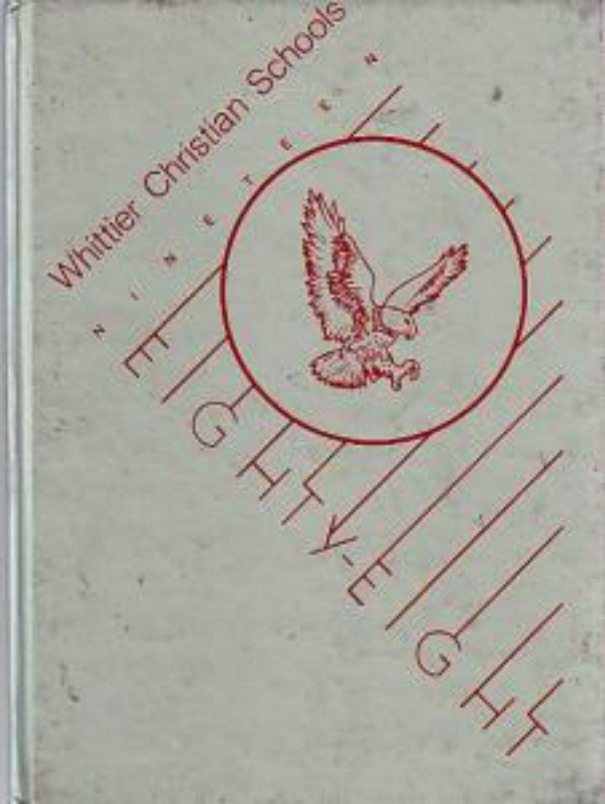 1988 Whittier Christian Schools K~6 Yearbook  La Mirada