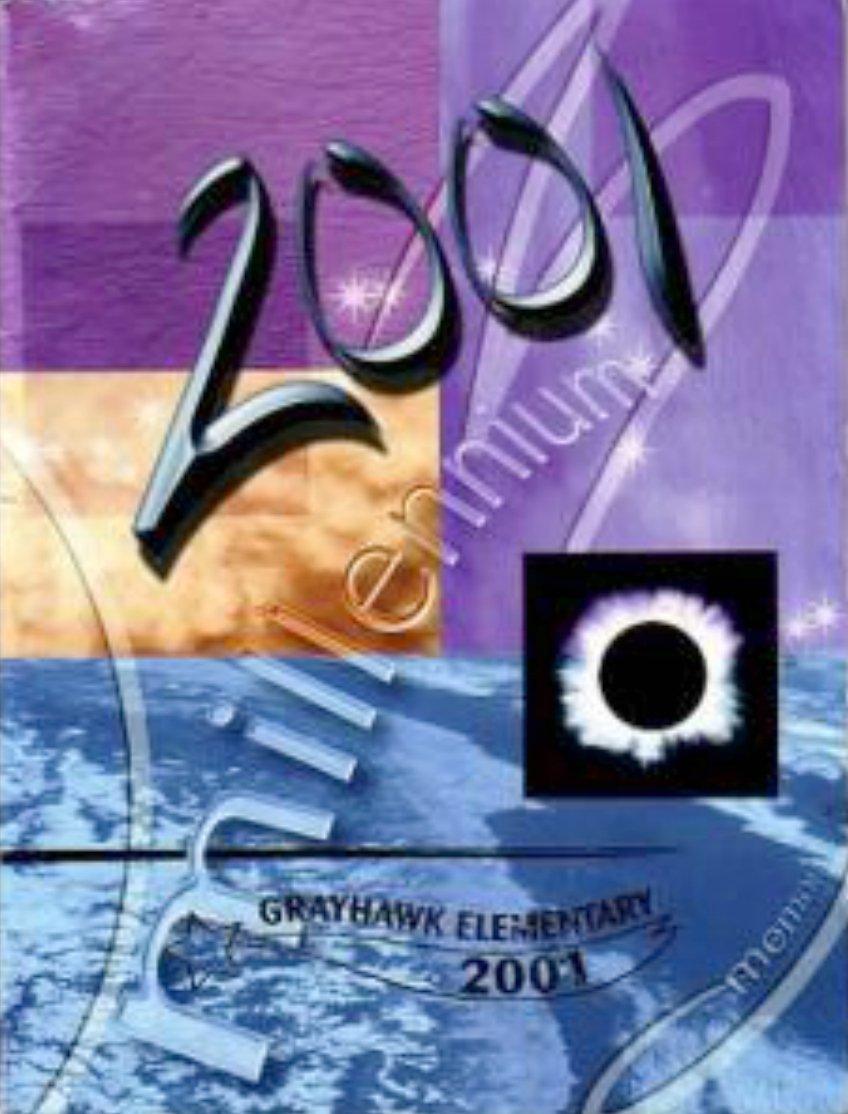 2001 Grayhawk Elementary School Yearbook Scottsdale Arizona