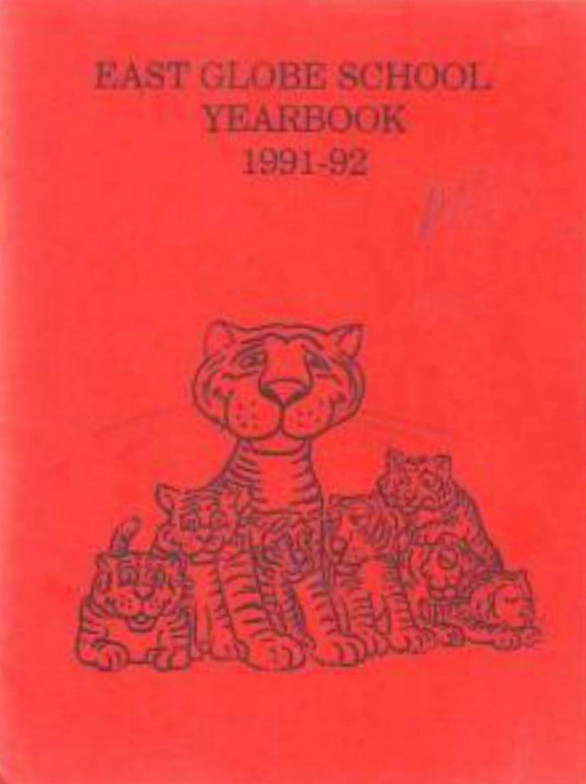 1992 East Globe School Yearbook ~ Globe Arizona