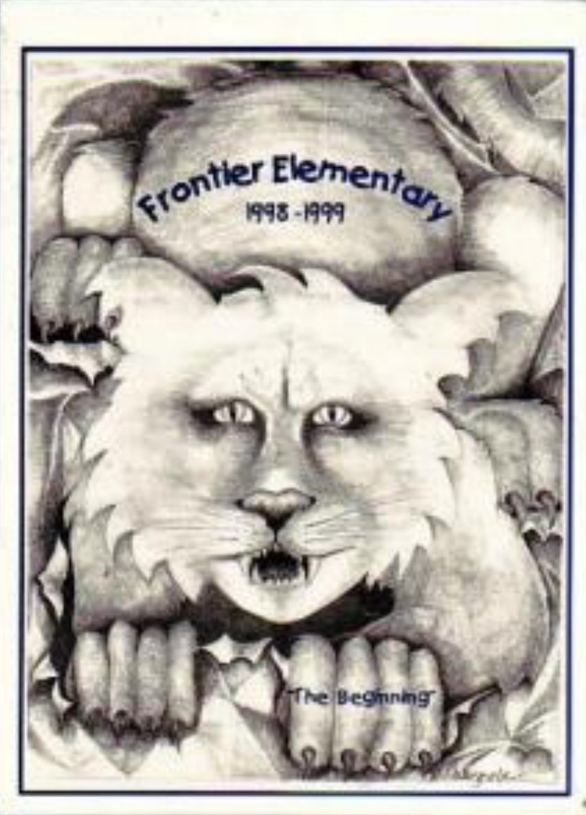 1999 Frontier Elementary School Yearbook Peoria Arizona
