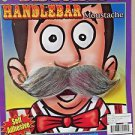 Moustache Handlebar Self Adhesive Grey Full Moustache