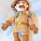 "Teddy Roosevelt Theodore Plush 11"" Little Thinkers Doll Unemployed Philosophers"