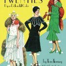 Costume Paper Dolls: Great Fashion Designs of the Twenties Paper Dolls by Tom...