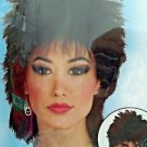 Wig Rock Idol 80's  Theatrical Black Male or Female NEW Free Shipping