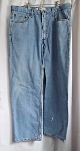 Levi Strauss Blue Denim Style 550 Relaxed Fit  Waist 38  Inseam 30