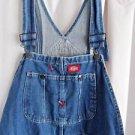 Dickies Overalls Blue Denim Dickies Waist 40 Inseam 30 100% Cotton