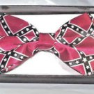 Bow Tie Confed  Southern Red Blue and White Gift Box