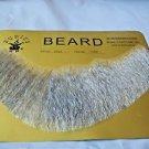 Beard Human Hair Full Beard Light Grey Net Professional Theater Rubies 2024